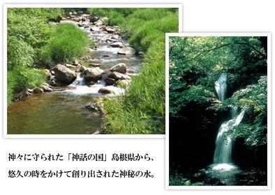 純天然アルカリ保存水神秘の水