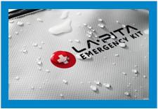 防災セットラピタ、ターポリン防水・撥水加工